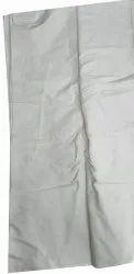 White Plain Pure Cotton Fabric