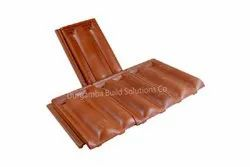 Roofing Clay Tiles Dust Pressed