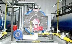 Oil & Gas Fired 100 Mcal/hr Pressurized Closed Loop Hot Water Boiler