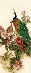 Beautiful Peacock Tiles