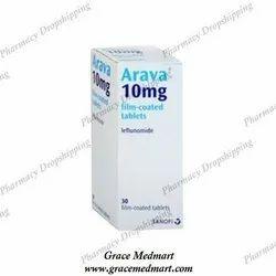 Arava 10 Mg Tablets