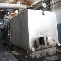 Agro Waste Fired 1.5 TPH Membrane Wall Steam Boiler IBR Approved