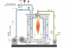 Oil & Gas Fired 400,000 kcal/h Hot Water Boiler