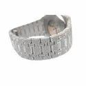 DEF VVS Moissanite Studded Diamond Watch 1