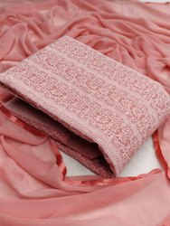 Chikenkarri Embroidery Work Dress Material