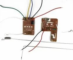 4CH 40MHZ Remote Transmitter & Receiver Board with Antenna for DIY RC Car Robot