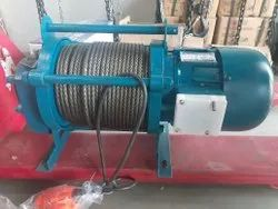 KCD Electric Winch Machine