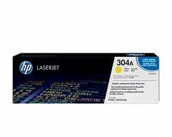 HP 304A Yellow Original LaserJet Toner Cartridge (CC532A)