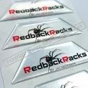 Standard Pvc Printed Dome Stickers., Packaging Type: Box, Size: Custom Made