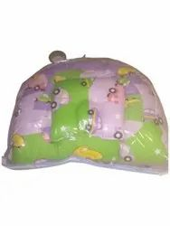 Printed Green Cotton Baby Carry Bed, Size: 120X120cm