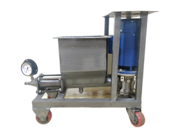 Electric Cement Grouting Machine 1HP Vertical