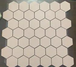 Lucent Vitrified Mosaic Floor Tiles, For Bathroom, 30 * 30 cm