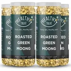 Roasted Solid Moong 600 gm ( Pack of 4-150 gm each)  Spicy Masala