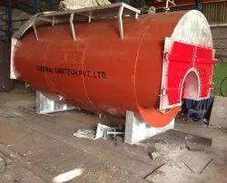 Wood Fired 3000 kg/hr Packaged Steam Boiler, IBR Approved