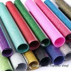 Heat Transfer Glitter Vinyl 12 inch and 20 inch Roll