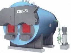 Solid Fuel Fired 1500 kg/hr Steam Boiler