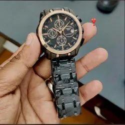 Black Tissot Watch