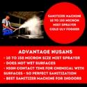 Sanitizing Machine For Office, Hotel & Hospital (ULV Fogger)