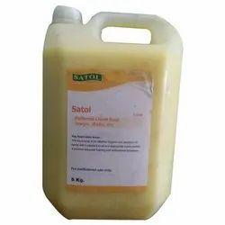 Liquid Soap Satol, For Stain Removing And Cleaning, Packaging Size: 5 Liter