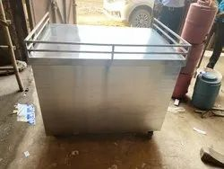 Stainless Steel Multipurpose Cash Counter Manufacturing by Aarvik Industries