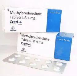 Methylprednisolone Tablets I.P. 4mg