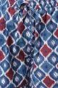 Janasya Women's Blue Cotton Night Suit Set(NW014)