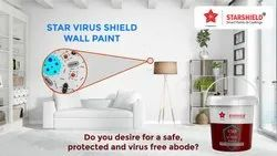Antimicrobial Formaldehyde Wall Paint - Star Virus Shield (Wall Paint)