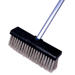 Floor Brush With Wiper Commercial Grade Heavy Duty