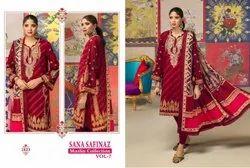 Lawn Cotton Salwar Suit Wholesale Catalog