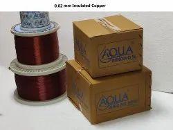 0.02 mm Insulated Copper Wire
