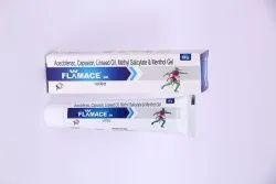 Aceclofenac Capsaicin Linseed Oil And Menthol Gel