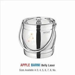 Stainless Steel Barni-Apple Laser