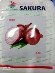 Natural N 53 Red Onion Seeds, Packaging Type: Pouch, Packaging Size: 250 Gm