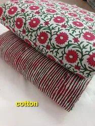 Cotton Fabric, Traditional, Multicolour