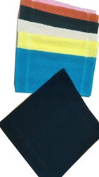 Cotton Terry Hand Towel, Rectangular, Size: 20x50cm