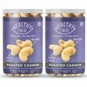 Healthy Treat Premium Roasted Cashew 400gm - Pack Of 2 - 200 Gm Each
