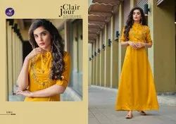 Designer Long Gown For Ladies