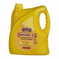 5 Litre Nakoda Kachhi Ghani Mustard Oil