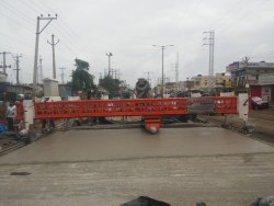 Fixed Form Concrete Road Paver