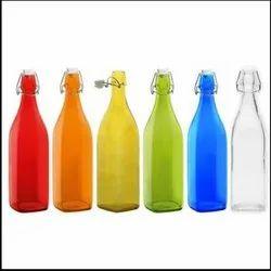 Flint Glass Bottle