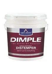 Ayka Paints Mid Sheen Dimple Acrylic Washable Distemper Paint, For Wall, Packaging Type: Bucket