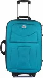 Plastic Yours Luggage Trolley Green 20 Inch(Without Box), For Travel