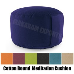 Cotton Organic Meditation Cushion