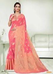 Banarasi Cotton Silk Sarees