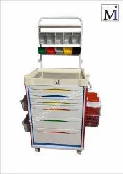 Anesthesia Cart Model: MI-37ANE(ABS Top - All Drawer)