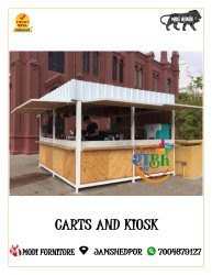White Wooden Product Advertising Stall, For Stalls, Size: 10*10