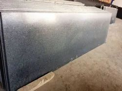 Black Leather Finished Granite Slabs, For Flooring, Thickness: 16mm