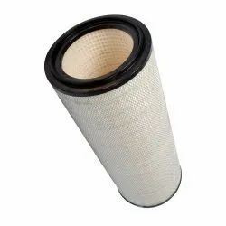 Activated Carbon Aluminum Mesh Cylindrical Cartridge Filter, Length: 925 mm