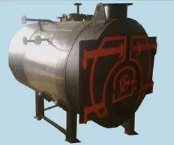 Biomass Fuel Fired 400 kg/hr Semi Industrial Steam Boiler