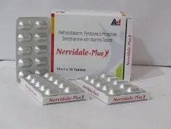 Nervidale Plus ( Mecobalamin + Pyridoxin +5 Phosphate Benofothiamine And Vitamin)